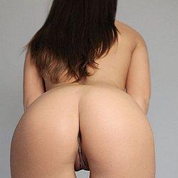 Von hinten muschis geile Haarige Muschi